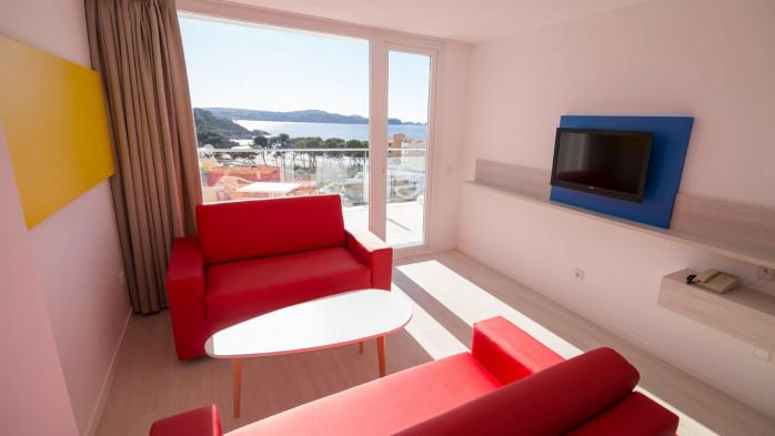 Sala de estar Apartamento 1 dormitorio