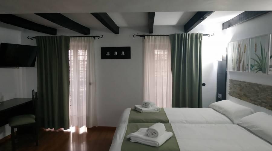 Habitación doble superior dos camas