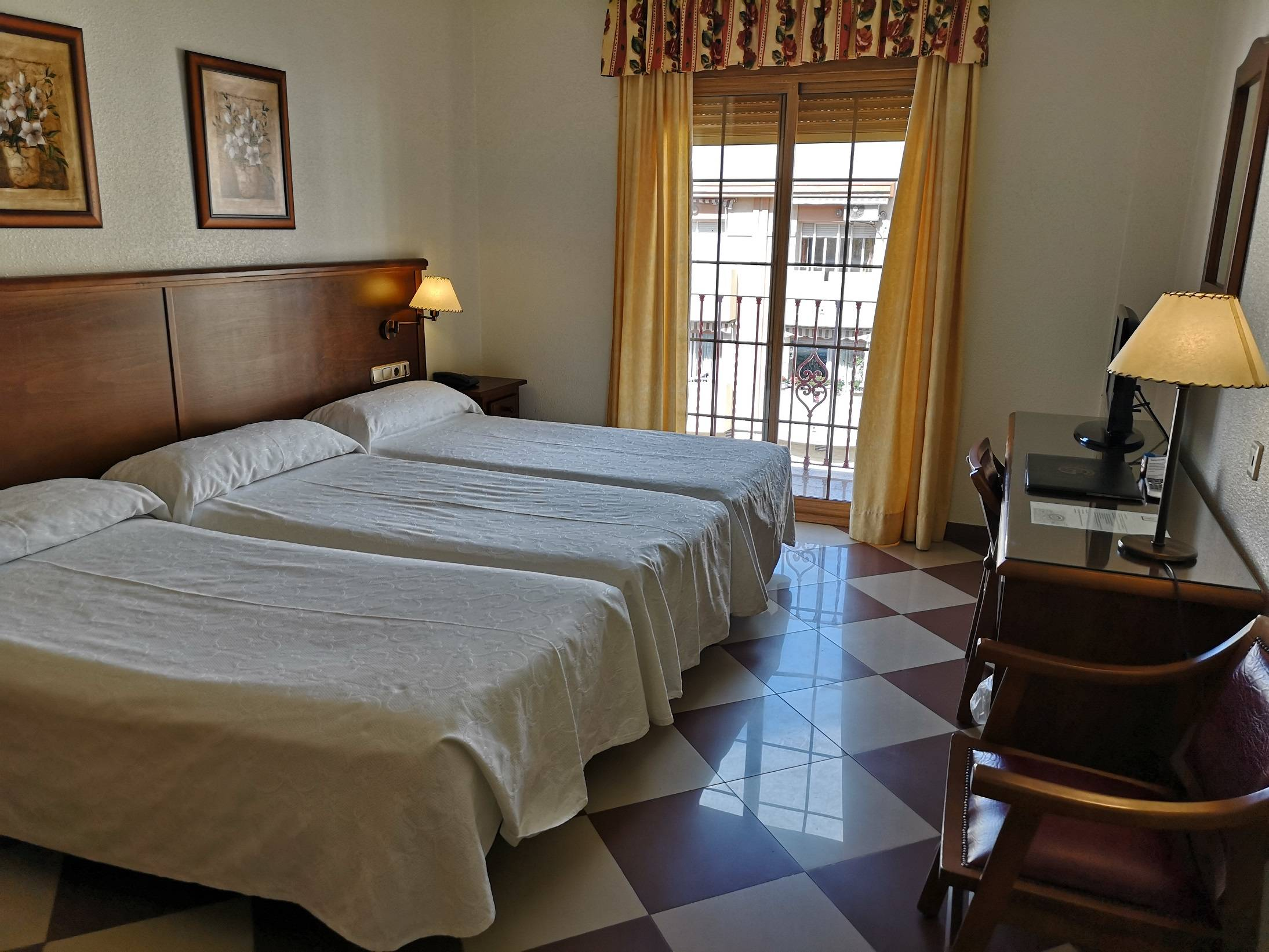 habitación triple