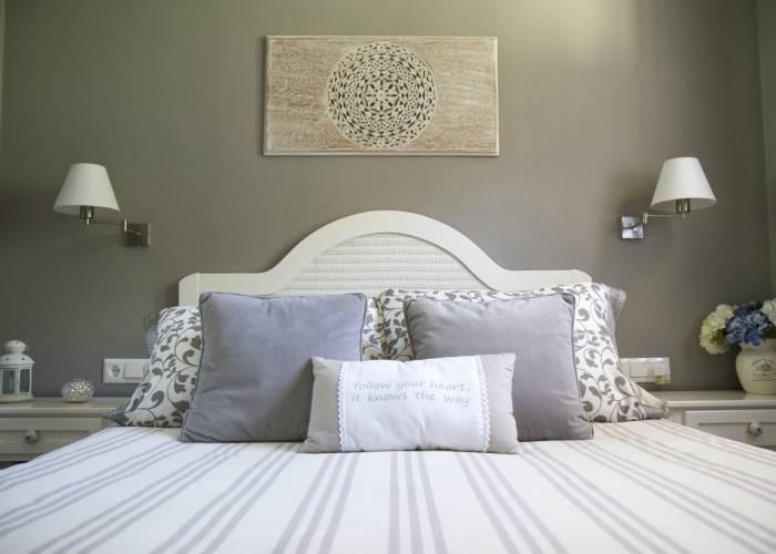 Habitación Doble Estandar - Vista de la cama