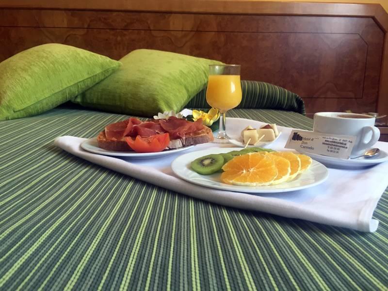 desayuno en Ávila