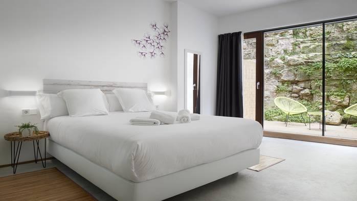 Habitación Doble Terraza cama