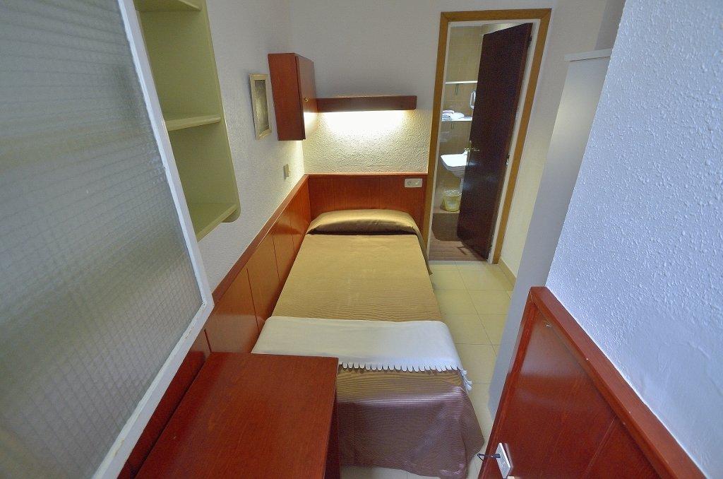 Habitación Individual interior Hotel Hermes