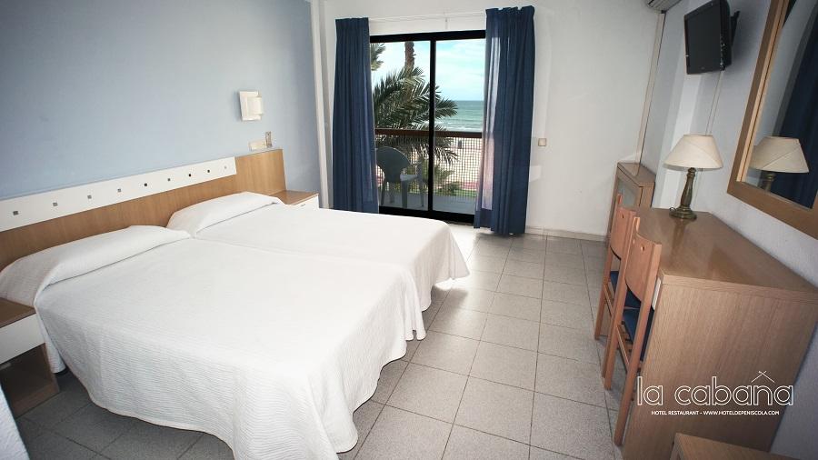 Habitación Vistas Mar. Hotel La Cabaña