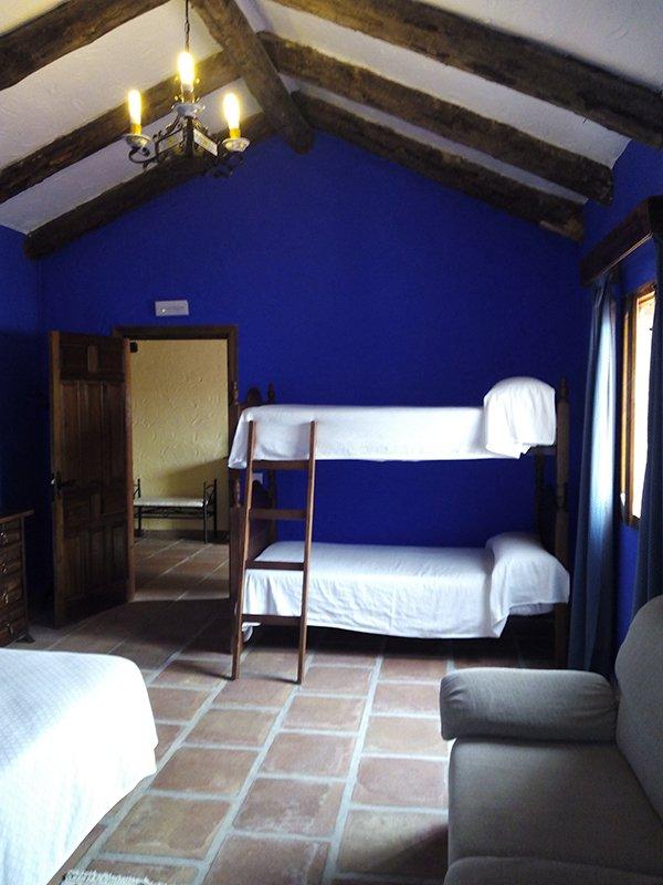 habitaciones amplias y confortables en el Colmenar