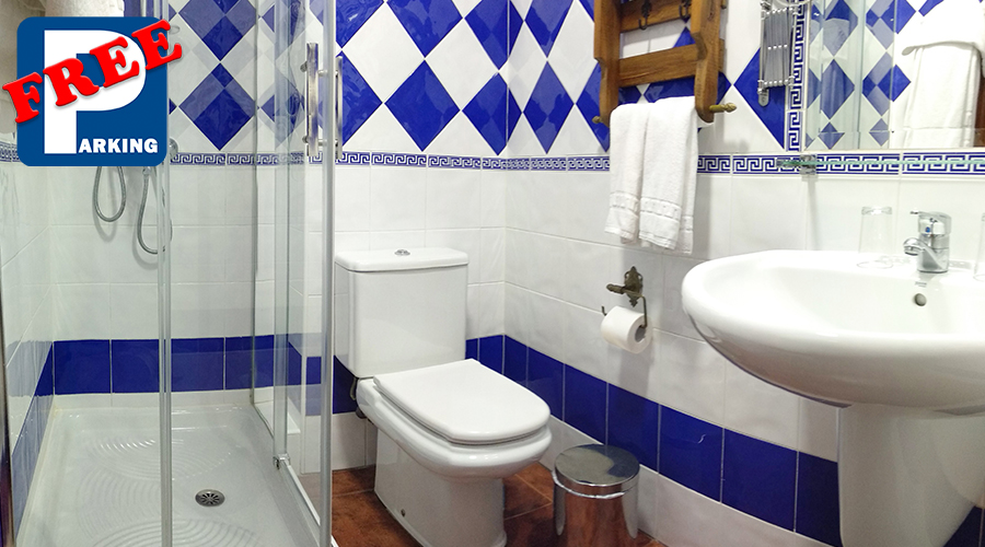 baño doble_Hotel San Francisco Ronda
