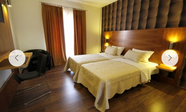 Double Superior room Hotel villa erina