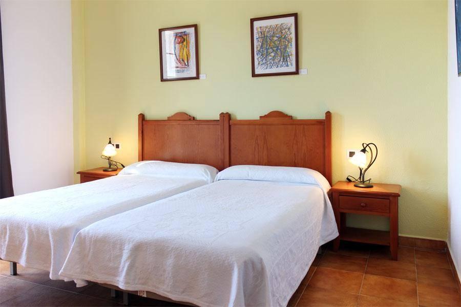 habitacion doble de camas separadas