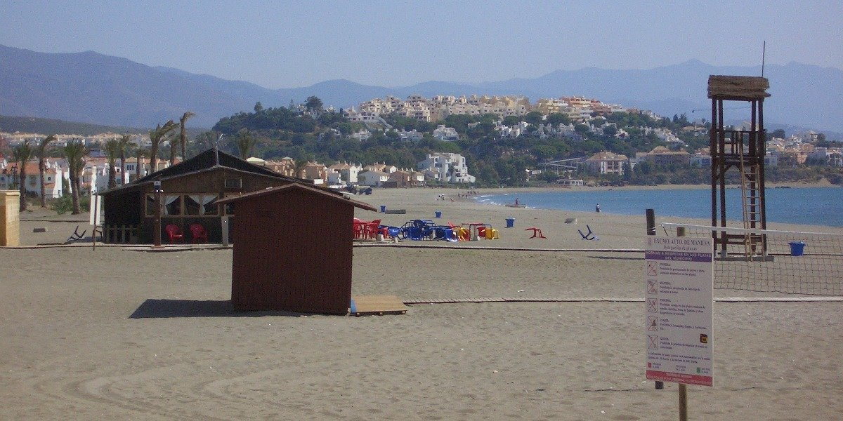 Playa de Sabinillas.